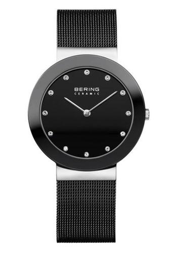 Bering silver Ceramic 11435-102 Black 35 mm Unisex Watch 91EDFAC3CF0477GS_1