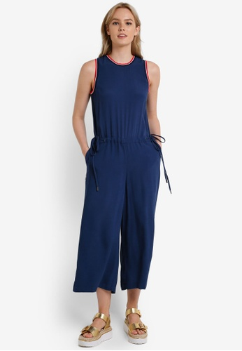 Tommy Hilfiger blue THDW JUMPSUIT CULOTTES S/L 13 TO729AA0F342SG_1