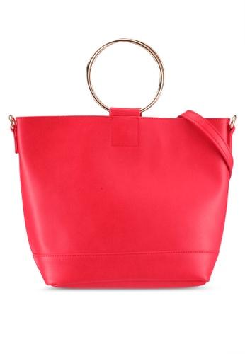 Dorothy Perkins red Red Mini Metal Handle Bag 1B7FCAC19EDDF3GS_1
