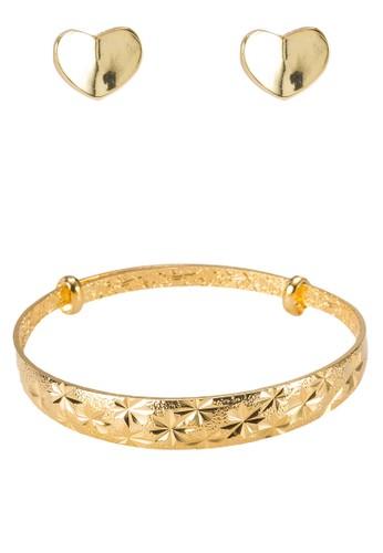 貴族時尚首飾組合, 飾品配件esprit 手錶, 耳釘
