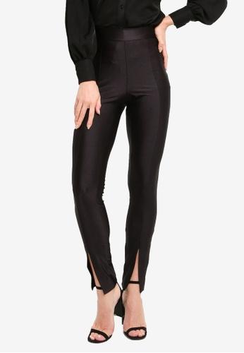 ONLY black Siline Shine Leggings ABA72AA936742FGS_1