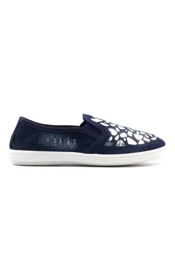 New York Sneakers navy Anj Slip On Shoes NE675SH69GVQPH_1