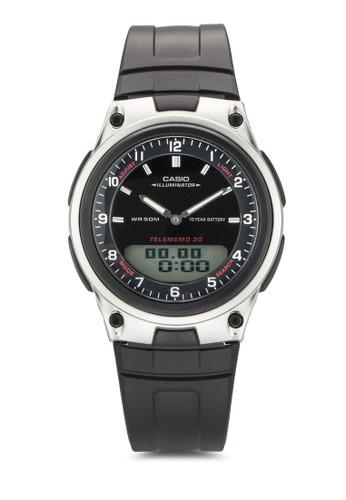 AW-80-1AVDF 運動風指針數碼手錶、 錶類、 飾品配件CasioAW-80-1AVDF運動風指針數碼手錶最新折價