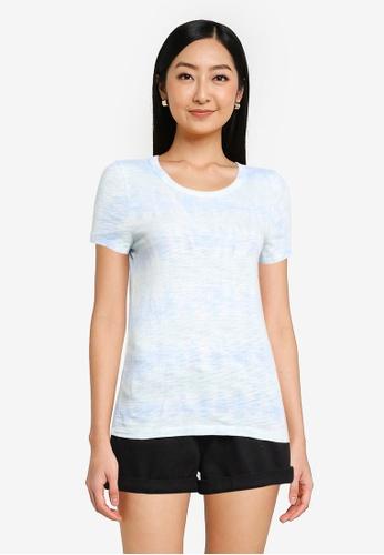 GAP blue Forever Soft T-Shirt EB68FAAAA56E79GS_1