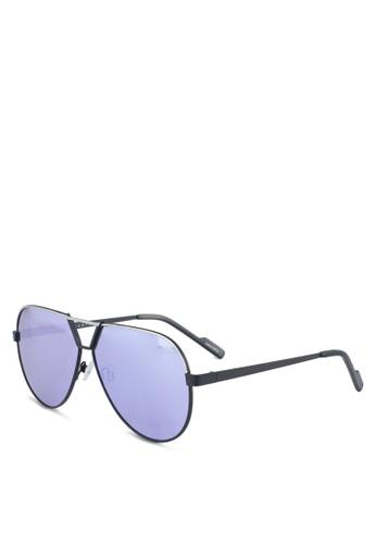 Quay Australia black SUPERNOVA Sunglasses 028E5GLFC2EABBGS_1