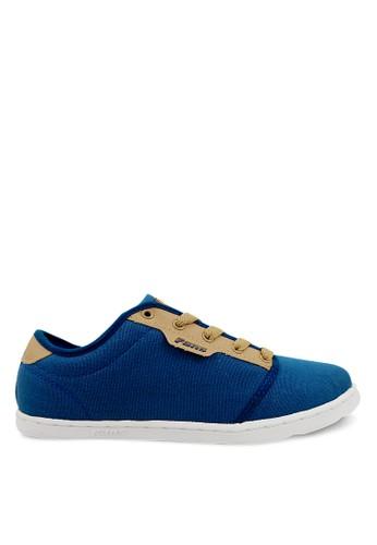 FANS blue Fans Muller N - Casual Shoes Navy Tan FA469SH54PQRID_1