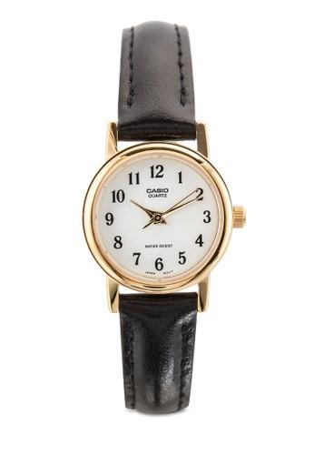 LTP-1095Q-7B 皮革女性圓錶、 錶類、 飾品配件CasioLTP-1095Q-7B皮革女性圓錶最新折價