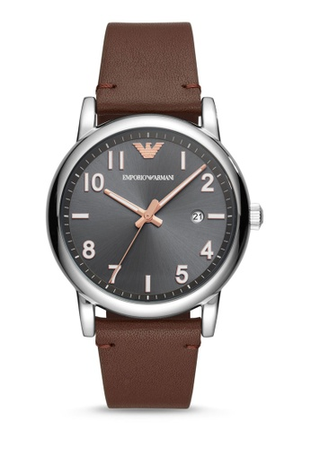 ARMANI brown Luigi Analog Watch AR11175 EF7AAACE6DD463GS_1