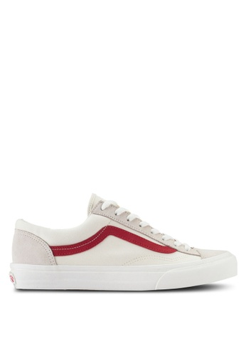 VANS white and red Style 36 Sneakers VA142SH71EZCMY_1