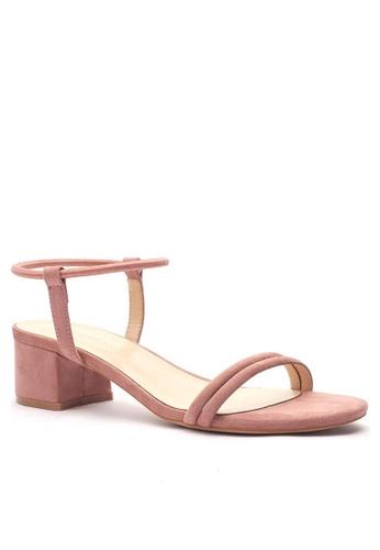 Twenty Eight Shoes 愛麗絲繞帶涼鞋320-22 BEBE4SH6818EC1GS_1