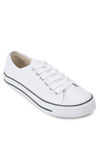 Catsu 繫帶休閒布鞋、 女鞋、 鞋DorothyPerkinsCatsu繫帶休閒布鞋最新折價