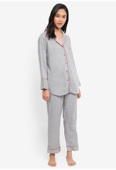 46eee04c65 Psst... we have already received your request. Perch. Truffle Long Pants  Pajama Set