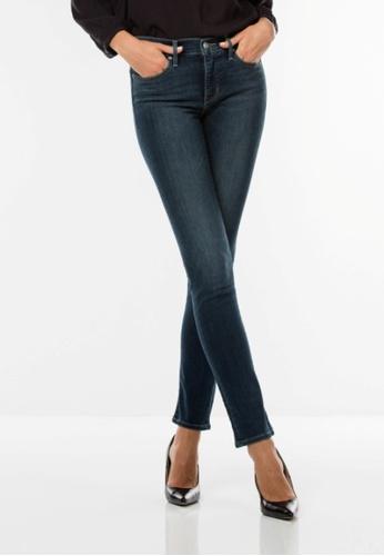 Levi's blue 312 Shaping Slim Jeans LE843AA0F1SGSG_1