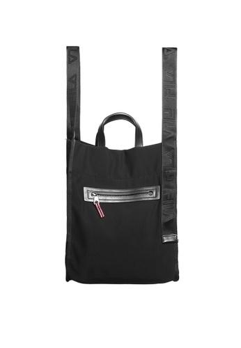 FILA black 2-Way Tote bag 9BE44AC55DB98AGS_1