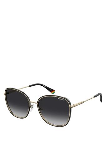 Polaroid black Pld 6117/G/S Sunglasses 25DF4GLBDCAE63GS_1