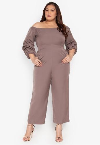 2dbc37167c2 Shop Get Laud Plus Maley Plus Size Jumpsuit Online on ZALORA Philippines