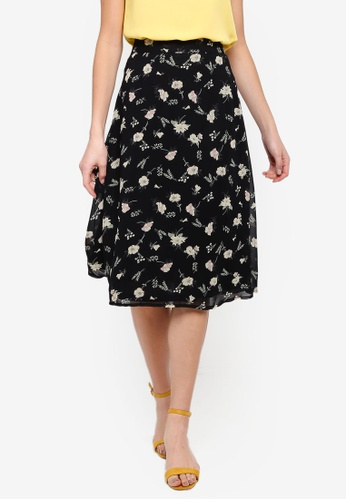 FORCAST black Charmaine A-Line Skirt A961DAA4E95384GS_1
