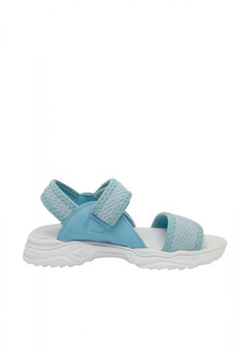 Step One blue Girls' Toddler Dominic Sandals 398A3KS638FC28GS_1