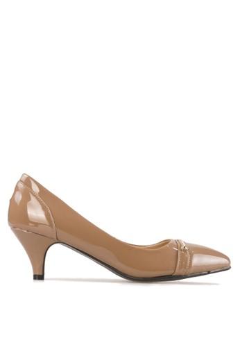 BETTINA brown Bettina Heels Joyce - Brown BE073SH62BRPID_1