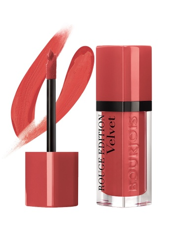 Bourjois Rouge Edition Velvet Lipstick #04 Peach Club (Exp: 2021 onwards) BO885BE67NFOSG_1