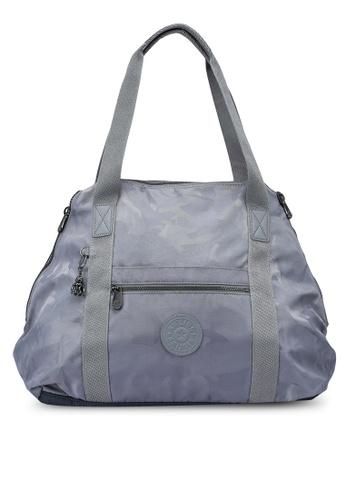 Kipling grey ART M Grey Camo Jq Tote Bag 372FBACE054B3BGS_1
