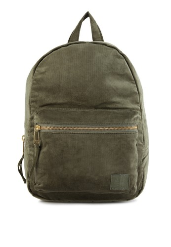 Herschel green Grove X-Small Backpack - Corduroy 6B92CAC62A6694GS_1