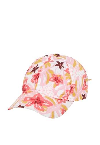 Du Pareil Au Même (DPAM) white Floral Bow Cap 6E4C4KC3B772E5GS_1