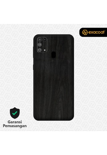 Exacoat Galaxy M31 3M Skins Wood Series - Wood Ebony C697FESA597FD4GS_1