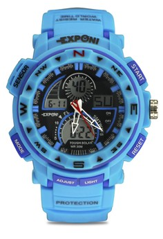 Unisex Ana-Digi Athletic Sports Watch 3206ME