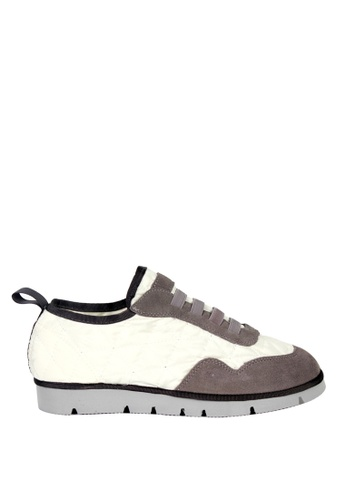 London Rag beige Tieless Sports Shoe 83FEBSHED37F13GS_1