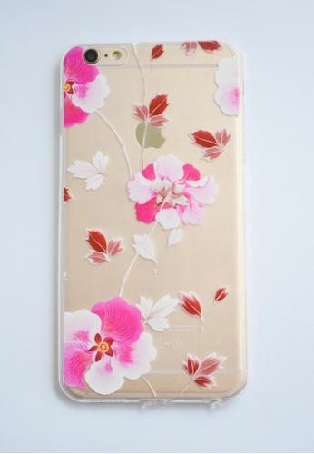 Fancy Cellphone Cases multi Orchids Transparent Soft Case for iPhone  6 plus/ 6s plus FA644AC10DANPH_1