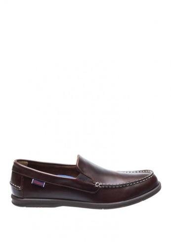 Sebago brown Litesides Slip-On Loafers Shoes 9875BSH1F069C7GS_1