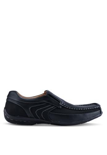 Louis Cuppers black Faux Leather Shoes A9733SH33D380DGS_1