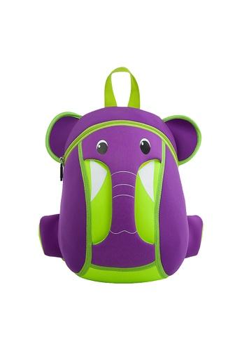 Nohoo purple Nohoo Kids Backpack Elephant Trunk (Purple) 11272KCB3AAADDGS_1