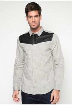 L/S Textured Slub Shirt