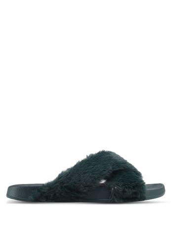 Rubi green Max Xover Fluffy Sandals 058C2SH4915E74GS_1