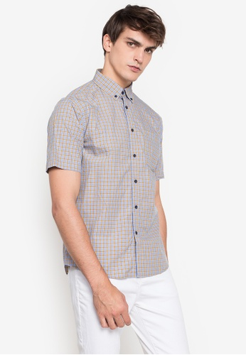 MARKS & SPENCER multi M&S Collection Pure Cotton Checked Shirt CF2E8AAA24EEF9GS_1