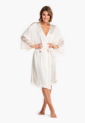 Deshabille white Beautiful Bride Robe BC4CDAA9AA13D4GS_1