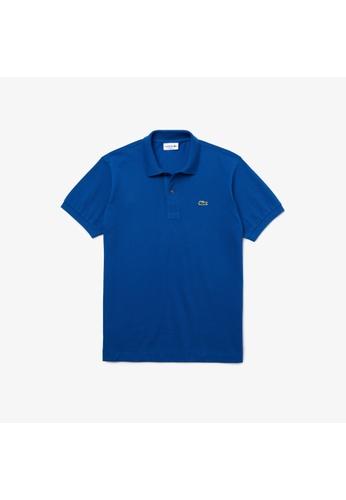 Lacoste blue Lacoste Men's L.12.12 Polo Shirt 30BF5AA7DFE5C3GS_1