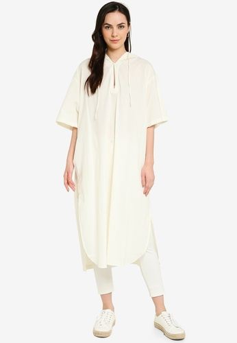 niko and ... white Hooded Tunic EA852AAD43C4DDGS_1