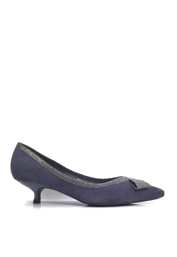 Twenty Eight Shoes blue Gorgeous Bow Kitten Heels VL2955 7929FSH6BFF87BGS_1