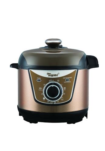 Toyomi Toyomi Electric Pressure Cooker 3.0L PC 3070 817D9HLB1377B5GS_1