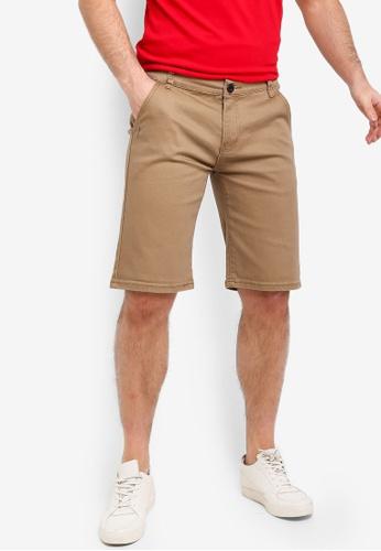 Fidelio 褐色 休閒短褲 52DE0AA71B4BDDGS_1