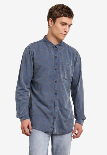 Cotton On 藍色 91 Shirt CO372AA0S49TMY_1