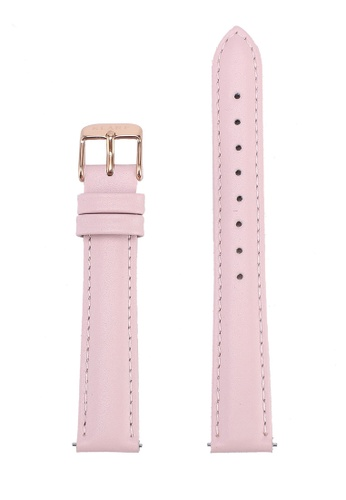 Klarf pink Petite Leather Strap CA42FACE533CC3GS_1