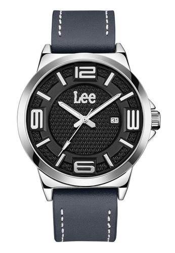 Lee Watches grey Lee Watch LEF-M133ASL8-1S Jam Tangan Pria Lee Leather Strap ffdb93aaab