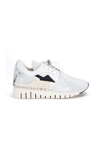 Shu Talk 白色 A.S.98 大熱限量窩釘真皮輕便波鞋 BBAEBSH5389509GS_1