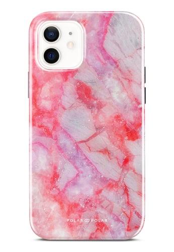 Polar Polar pink Gloaming Island Dual-Layer Tough Case Glossy For iPhone 12 02606ACA681682GS_1