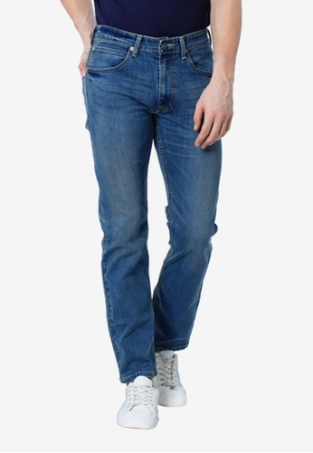 8783a760 Shop Lee Men' s Brooklyn Straight Denim Jeans Online on ZALORA Philippines