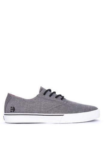 Etnies grey Jameson Vulc L Sneakers E0C1CSH775BEA3GS_1
